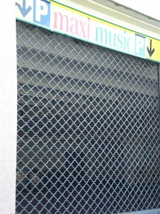 Mříž rolovací Verona detail
