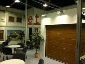 Výstava R+T stutgart garážových vrat
