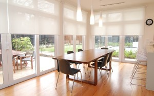 Textilní okenní rolety