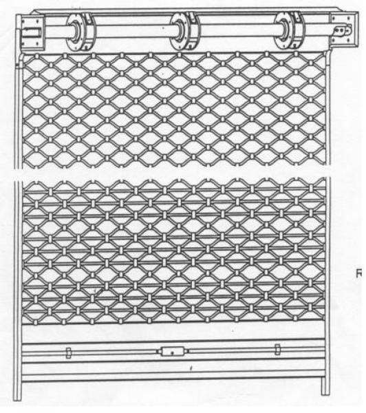 rolovací mříže Verona