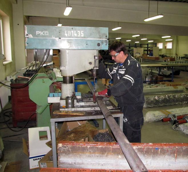 Výroba roletových mříží