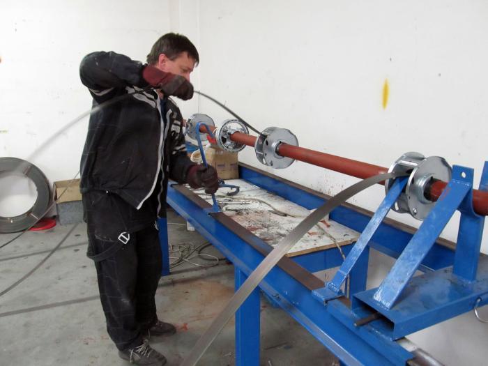 výroba rolovací mříže navíjení na hřídel