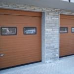 garážová sekční vrata 2 kusy