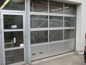 sekční průmyslová vrata