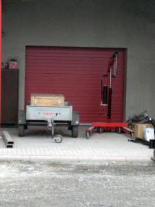 sekní vrata garážová