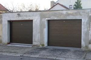 sekční garážová vrata kusy