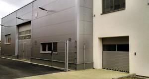 vrata sekční průmyslová