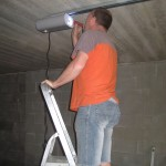 montáž sekčních vrat garážových