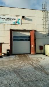 Průmyslová vrata Kladno
