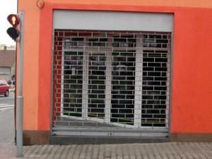 Rolovací mříže Valencia přímí pohled