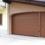 garážová vrata s obloukem