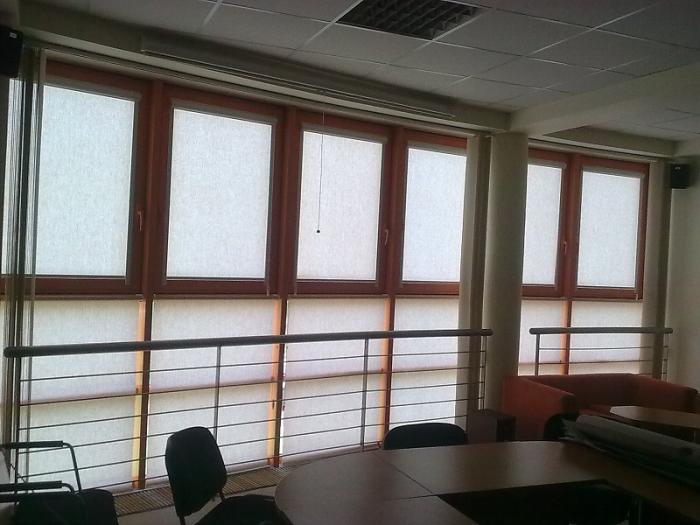 Textilní rolety okenní Kladno