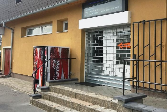 Mříž Roletová uzavřená