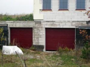 vrata sekční garážová