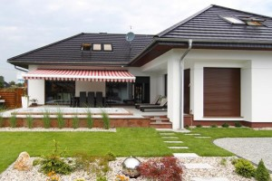 Rolety venkovní u rodinného domku