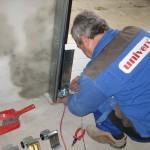 montáž sekčních garážových vrat
