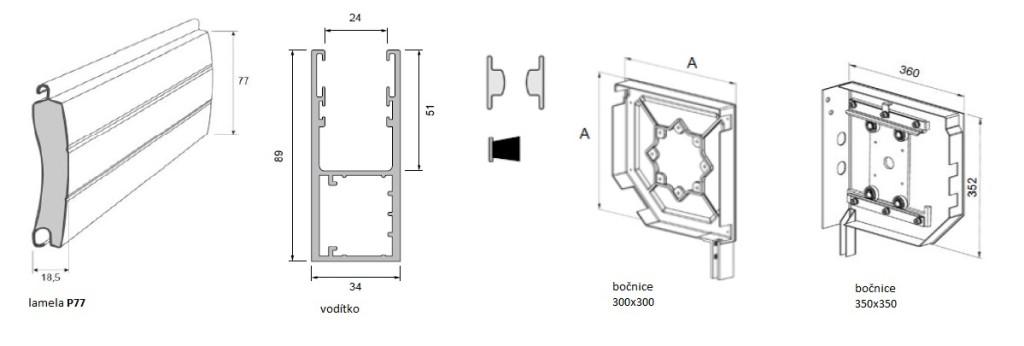 rolovaci-vrata-technicka-data